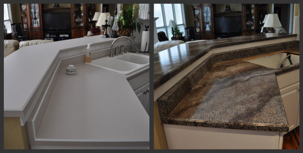 Giani Countertop Paint Veining : Published at 1024 ? 517 in Giani Granite countertop paint kit Review