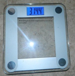 I lost 6.4 lbs now