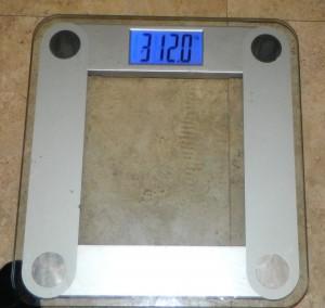 Week 4 weigh in