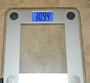 Week 5 weigh in