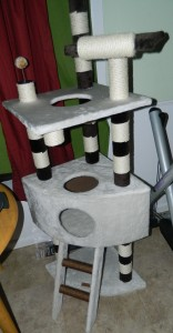My cat tower