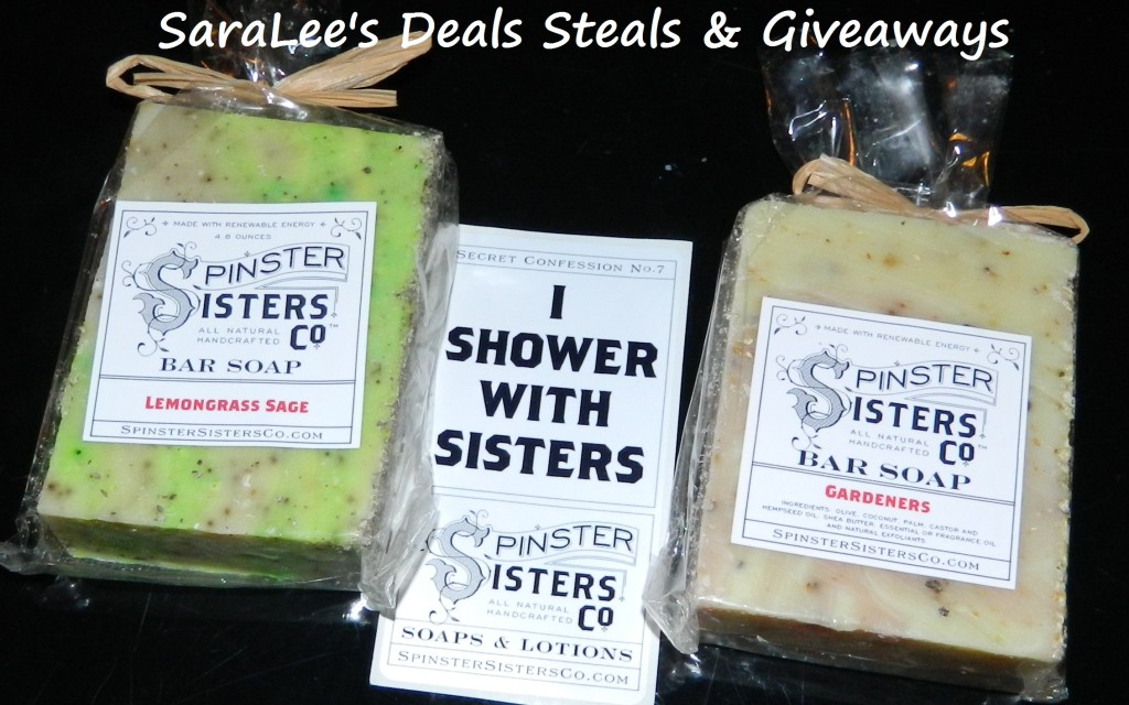 Spinster Sisters All Natural Soap
