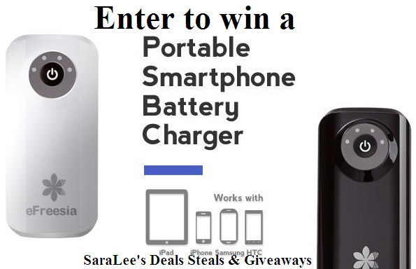 eFreesia charger giveaway