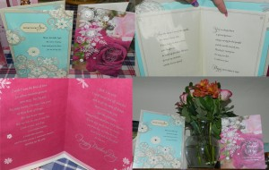 may2013 My cards & flowers