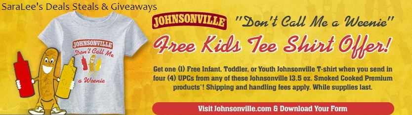 Johnsonville shirt offer