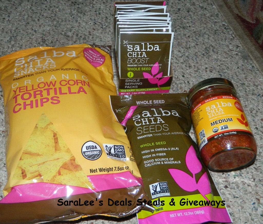 Salba Chia Seeds products