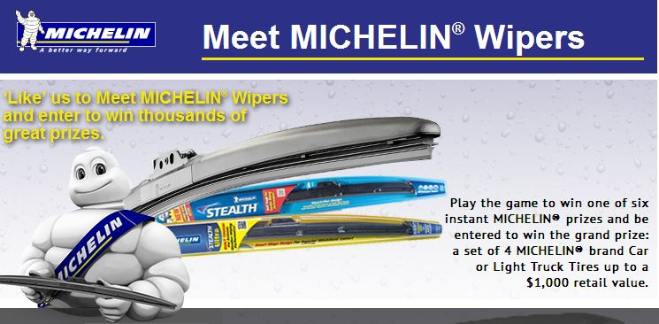 Michelin wipers