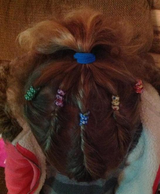 brea's hair