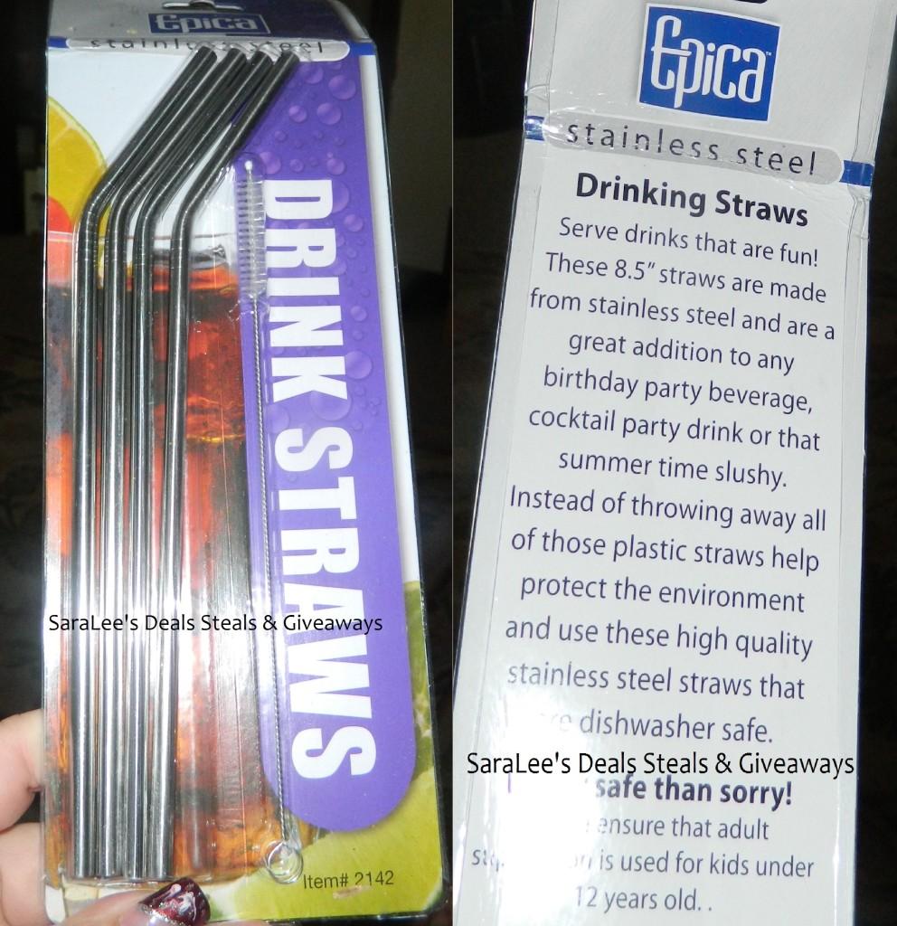 Packaging of straws