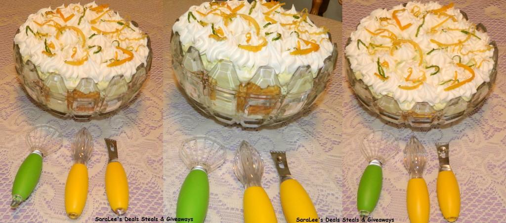 Avocado Trifle finished