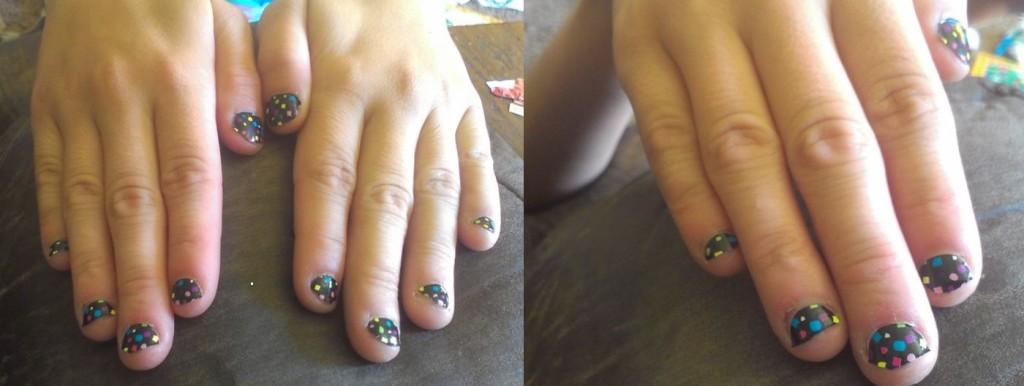 Confetti Nail Polish Strips