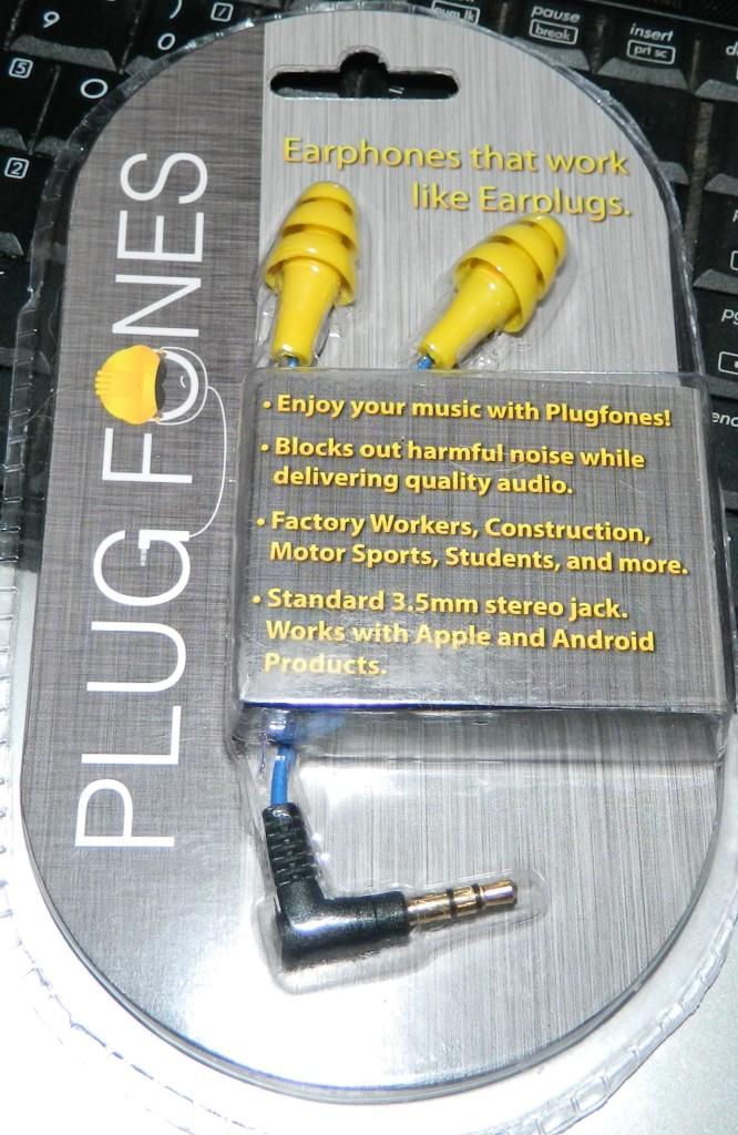 Cool new Hybrid Earphones/Earplug Gadget