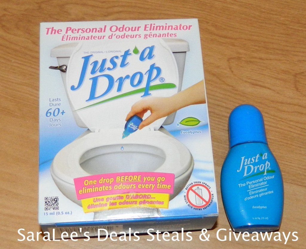 Just A Drop Bathroom Odor Eliminator Saralee 39 S Deals Steals Giveaways