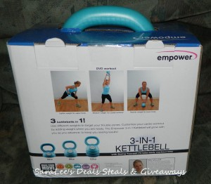 Empower 3-in-1 Kettlebell