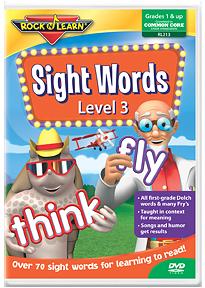 sight words level 3