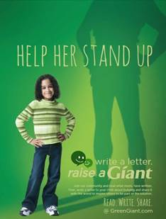 "Green Giant's ""Raise A Giant"" Anti-Bullying Campaign"