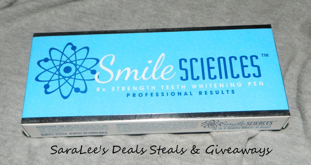 Smile Sciences teeth whitening pen