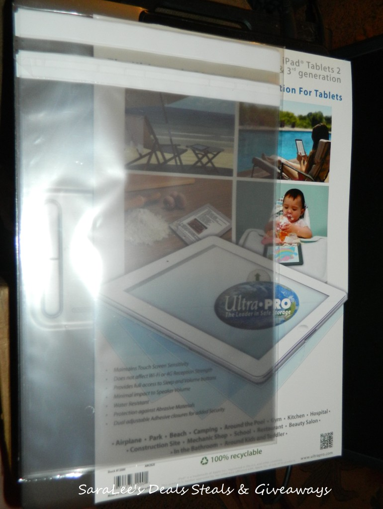 Ultra Sleeves™ Clear, Disposable, Protective Sleeve For Tablets