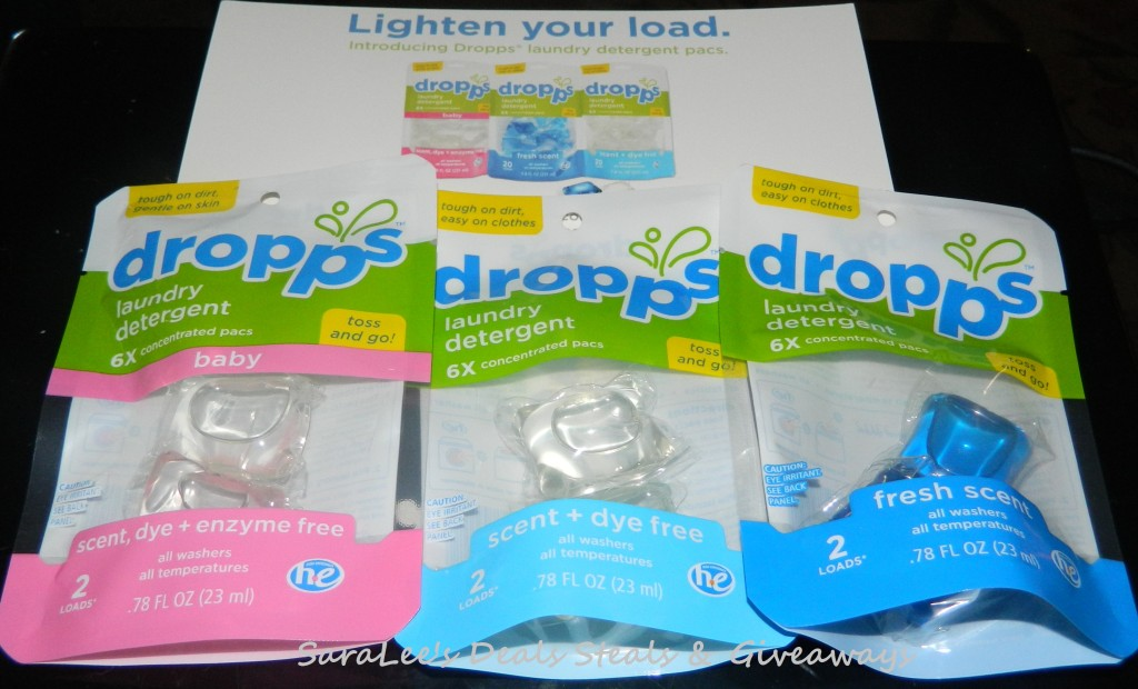 Dropps Laundry Detergent Pacs