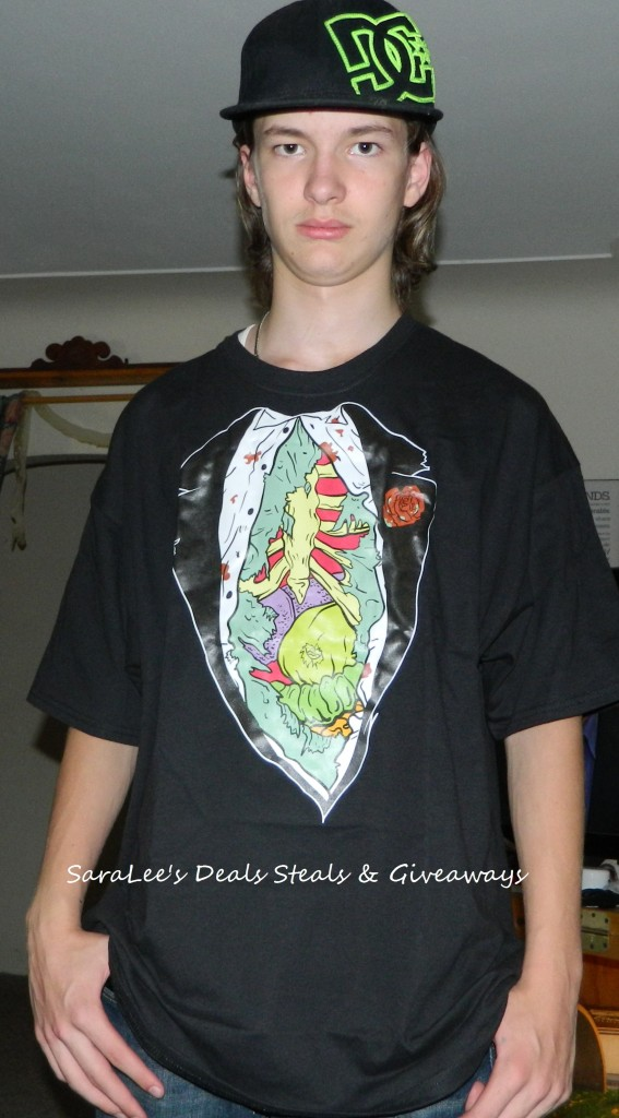 Zombie Tux shirt