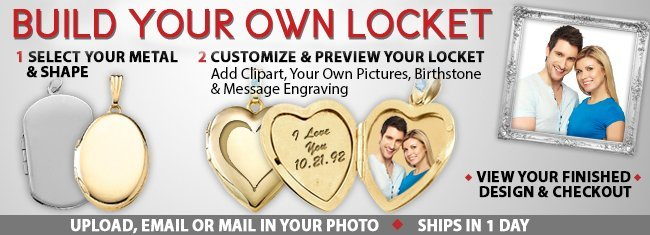 Enter to win a Sterling Silver Photo Heart Locket. Giveaway ends 11/27.