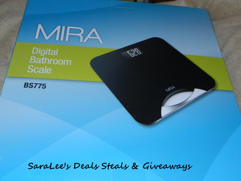 MIRA Digital Bathroom Scale with Handle