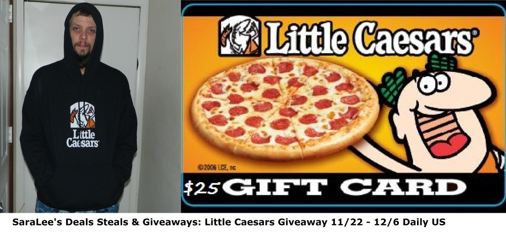 Enter to win a $25 Little Caesars Gift Card and Hoodie