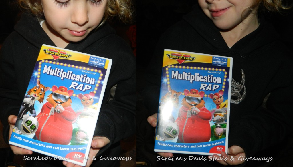 Rock 'N Learn Multiplication Rap DVD