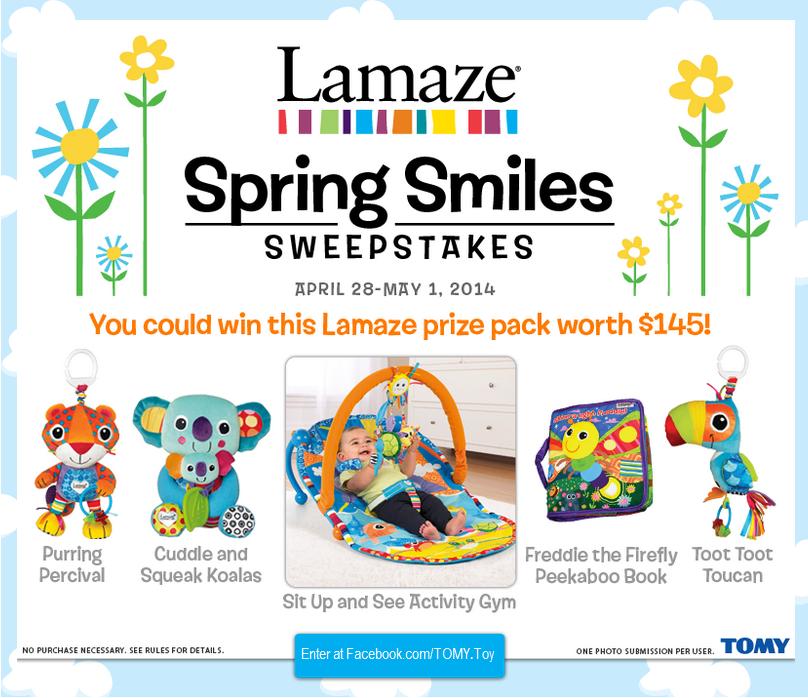 Lamaze Spring Smiles Sweepstakes