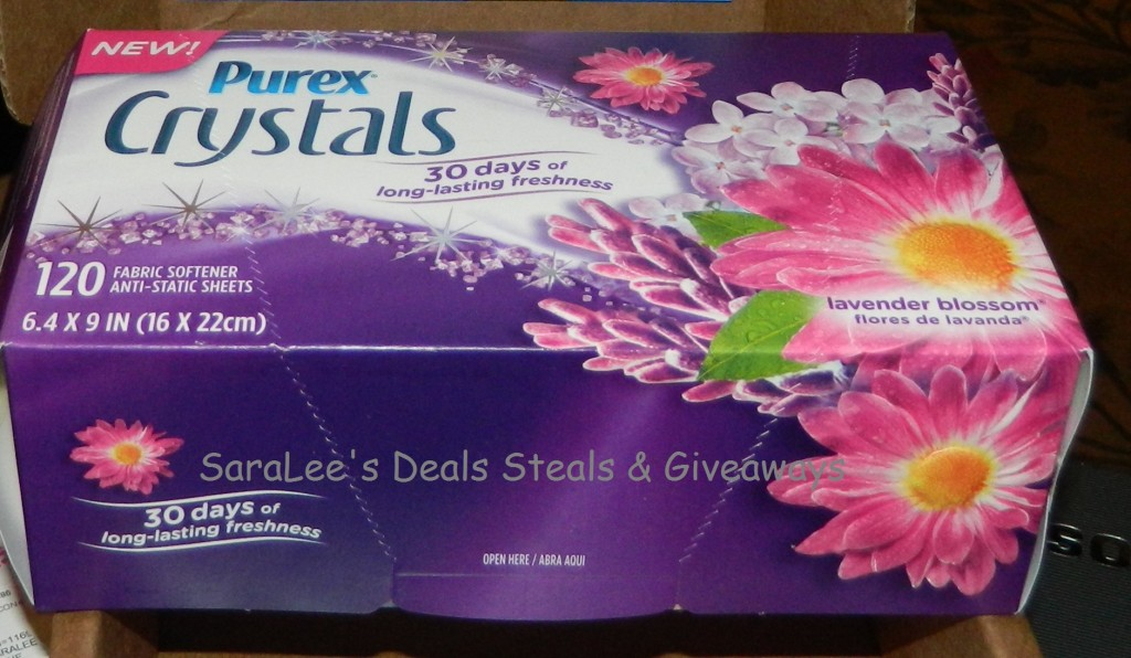Purex Crystals Dryer Sheets