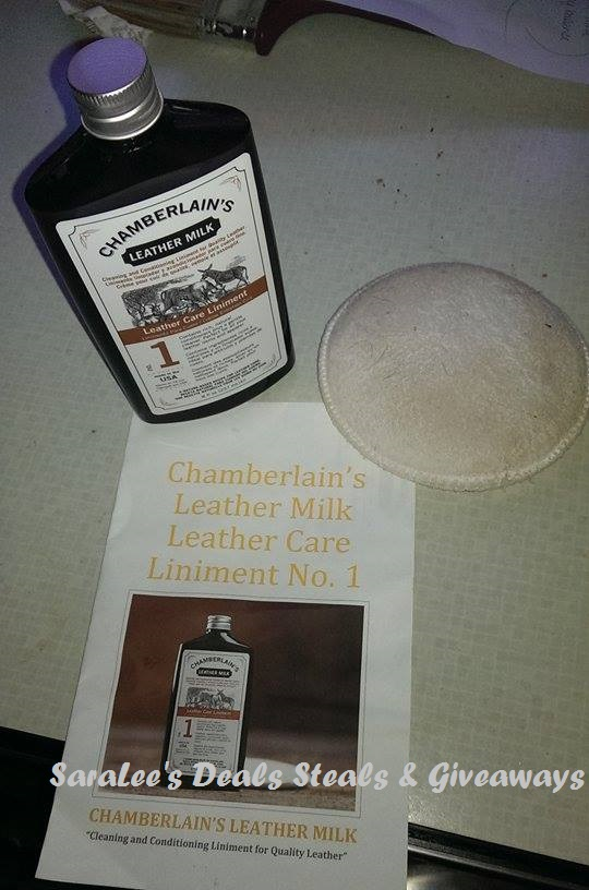 Leather Milk Leather Care