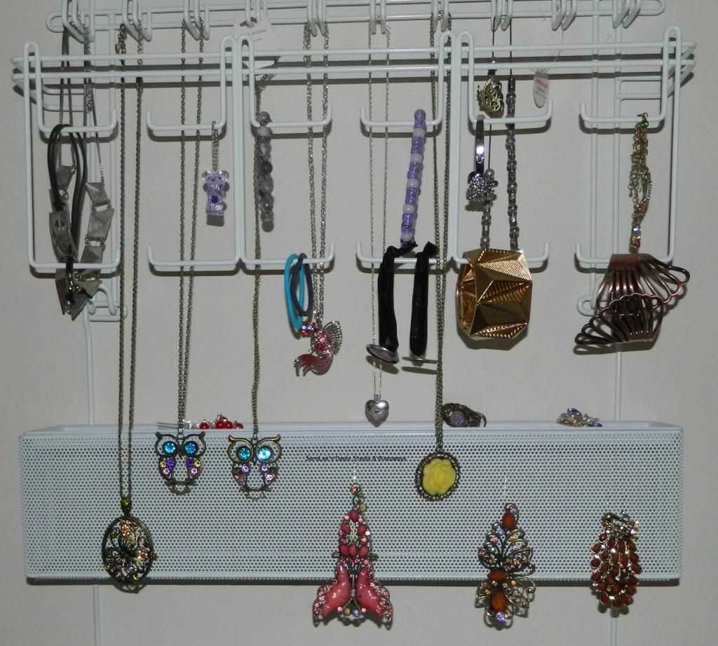 Overdoor/Wall Jewelry Organizer