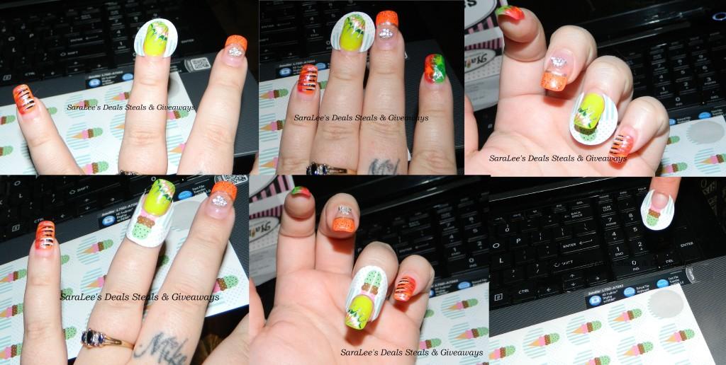 wearing nail cones
