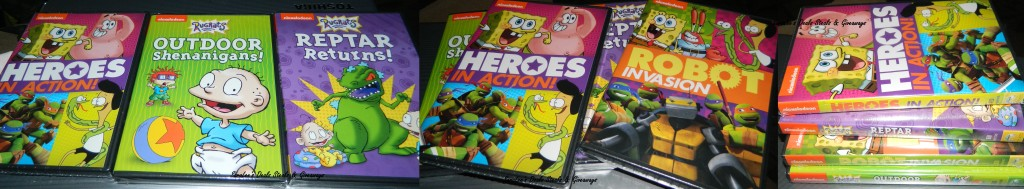 Rugrats, SpongeBob SquarePants, Teenage Mutant Ninja Turtles & Sanjay and Craig