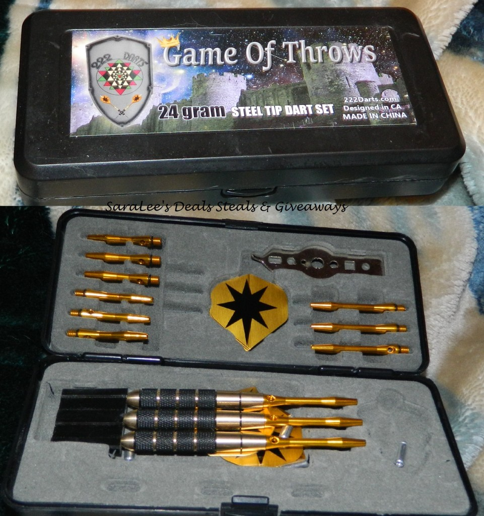 Game of Throws 24 Gram Steel Tip Dart Set