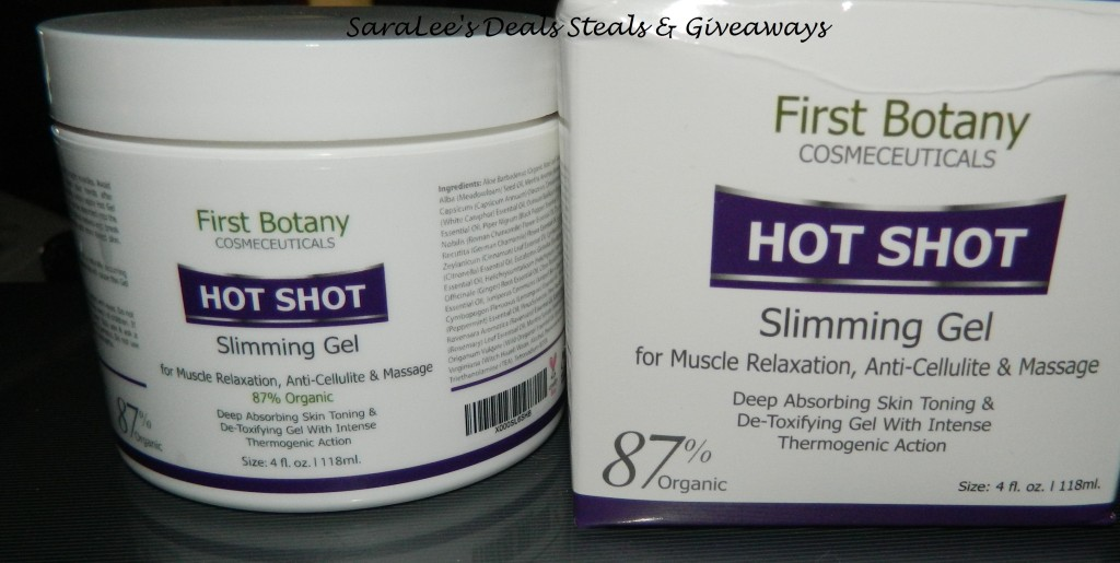 Hot Shot Slimming and Massaging Gel 4oz