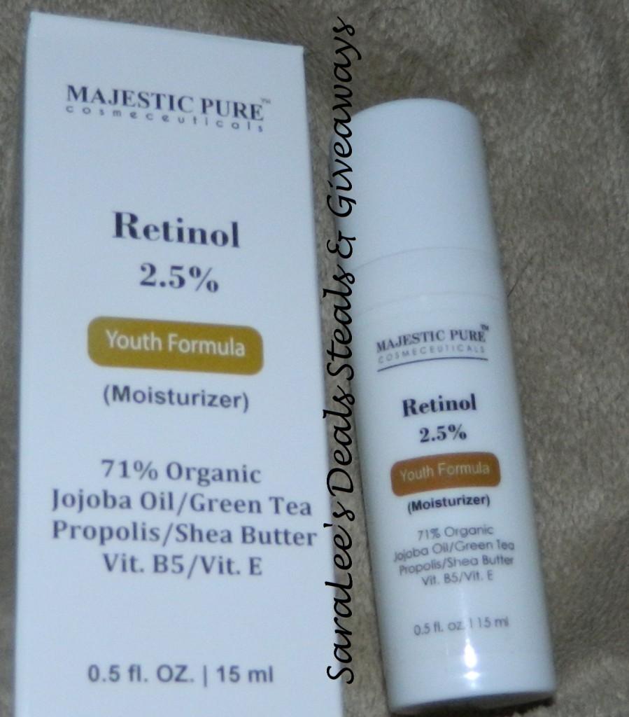 Majestic Pure Retinol Moisturizer Cream