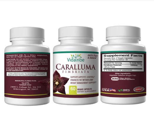 Caralluma Fimbriata Weight Loss 60 capsules
