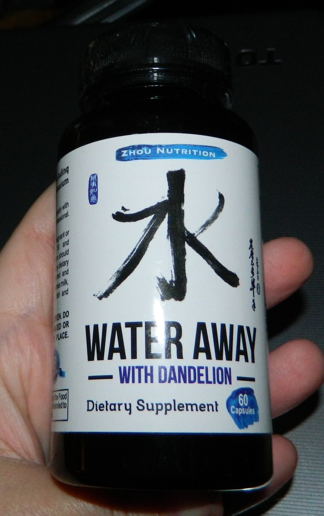 Zhou Nutrition: Water Away with Dandelion pill 60 capsules