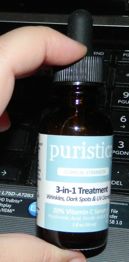 Puristica: 3-in-1 Treatment Serum 1oz