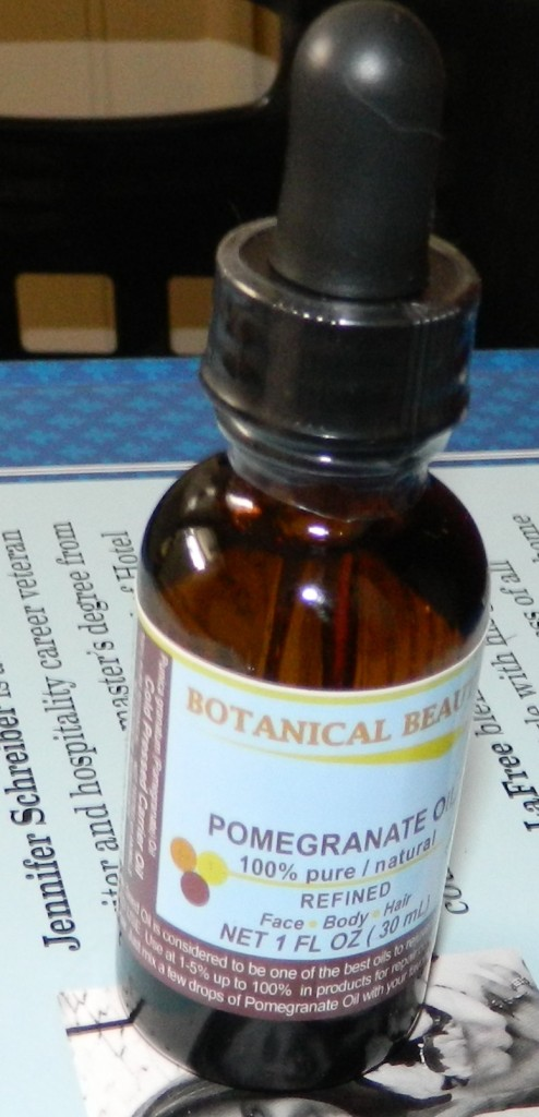 Botanical Beauty Pomegranate Oil 1oz