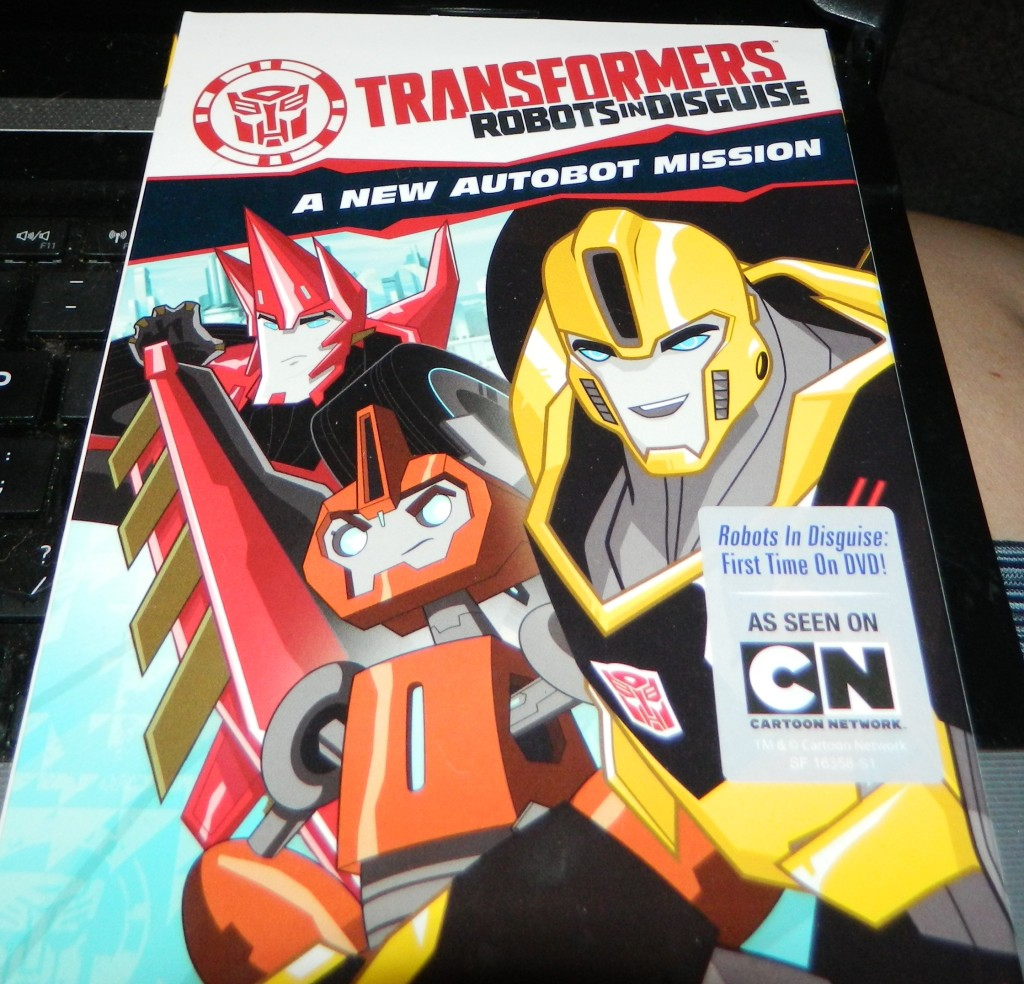 Transformers: Robots in Disguise: A New Autobot Mission DVD