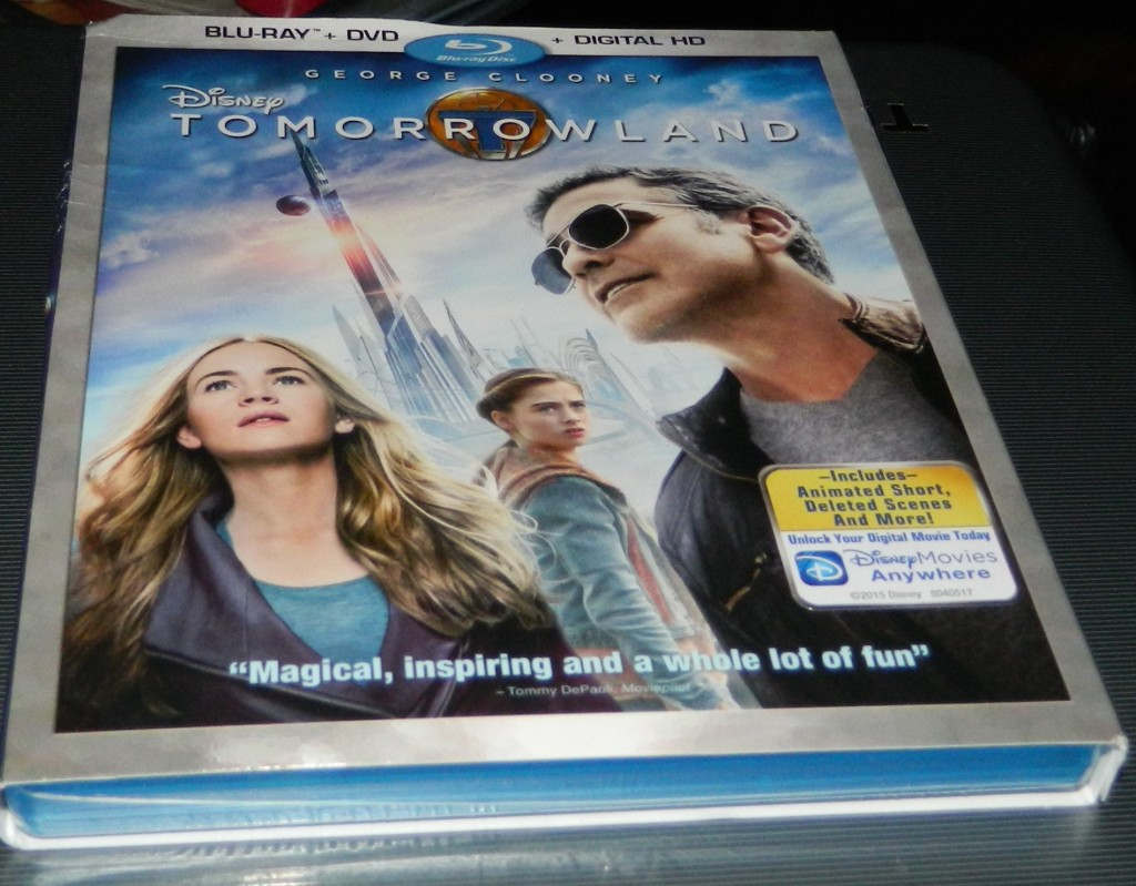 Tomorrowland DVD, Multi-Format 2-Disc Version