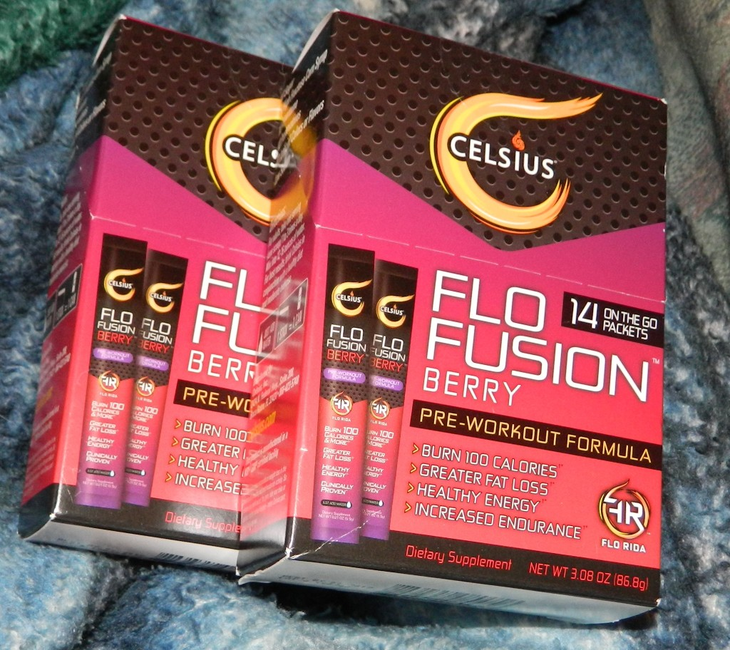 "Celsius ""Flo Fusion"" Berry On-the-Go with 14 Count Packets"