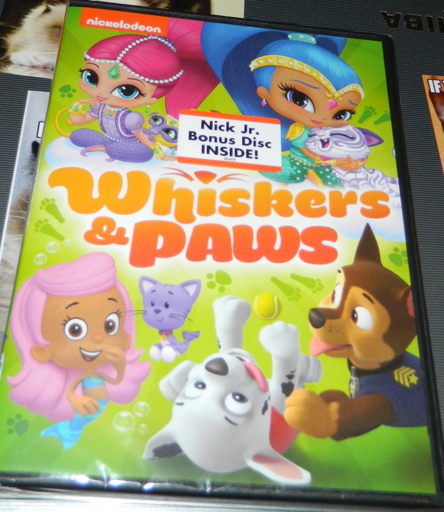 Nickelodeon Favorites: Whiskers & Paws DVD