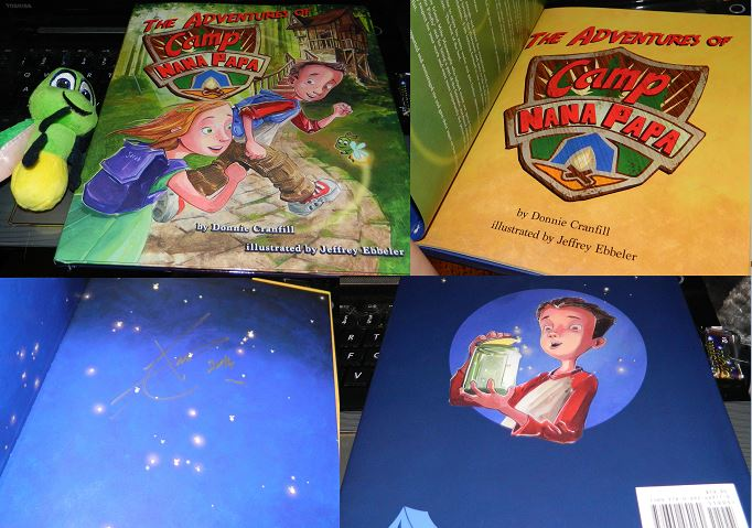 The Adventures of Camp Nana Papa Hardcover