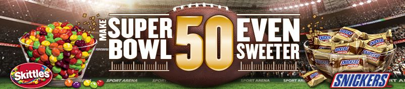 Snickers - Make Super Bowl 50 Even Sweeter