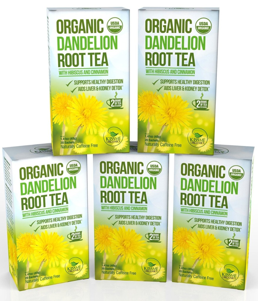 Kiss Me Organics: Dandelion Root Tea