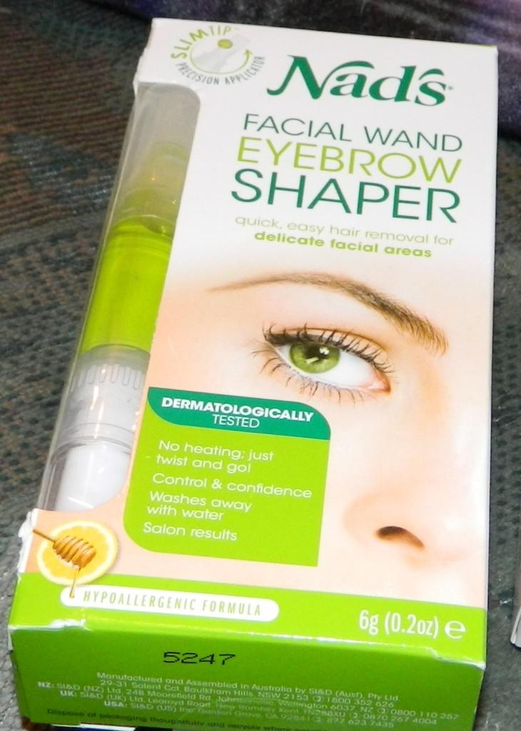 Nad's Natural Hair Removal Gel, Facial Wand