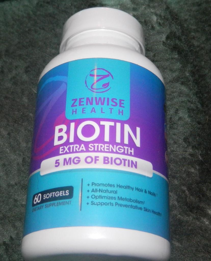 Biotin Soft gels With 5000 MCG